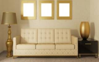 Как можно обшить диван?