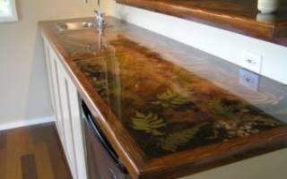 Как покрасить кухонную столешницу из ДСП?