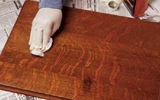 Как убрать пятна на лакированной мебели?
