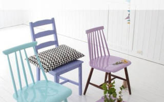 Как красить меловой краской мебель?
