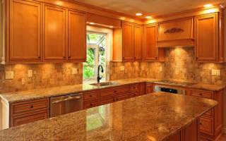 Из какого камня делают столешницы для кухни?