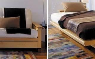 Как самому сделать диван кровать?