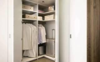 Как сделать стенной шкаф?