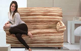 Какая ткань подойдет для чехла на диван?