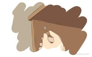 Как вытащить эксцентрик из мебели?