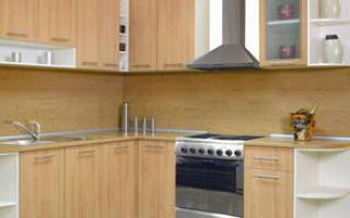 Как крепится кухонный фартук из МДФ?