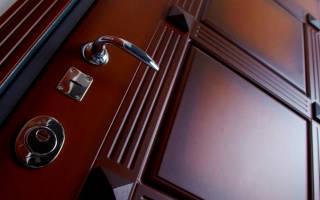 Как снять МДФ накладку с двери?