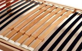 Как правильно устанавливать ламели на кровати?
