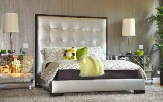 Как сделать высокое изголовье кровати?