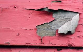 Как снять краску со старой двери?