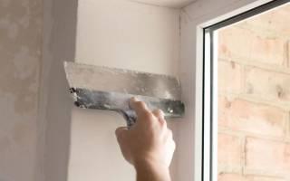 Как выровнять откосы входной двери?