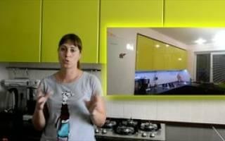 Чем мыть пластиковые фасады кухни?