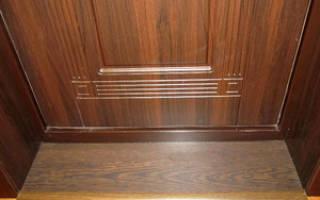 Дверные откосы на входную дверь из МДФ