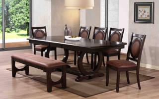 Столы для столовой и гостиной