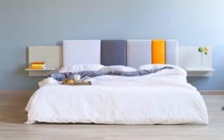 Как сделать высокую спинку кровати?