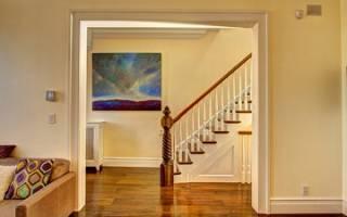 Как дверной проем сделать красивым без двери?