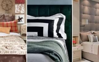Как закрепить изголовье к кровати?