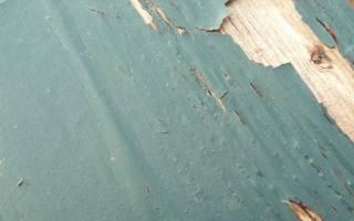 Как снять старый слой краски с дерева?