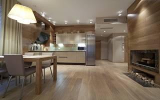 Как отделать МДФ панелями кухню?