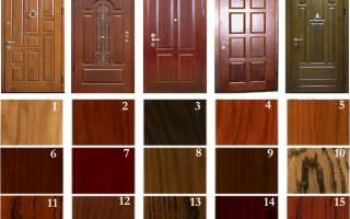 Чем отделать старую входную дверь?