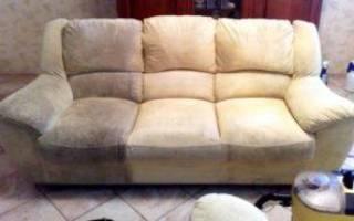 Как почистить подлокотники дивана?
