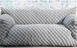 Из чего делают покрывала на диван?