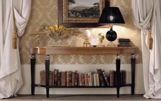 Что такое консоль мебель?