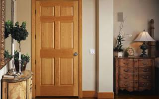 Как самому сделать входную дверь из дерева?