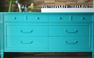 Чем красить старую мебель?