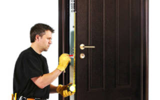 Как поменять утеплитель на входной двери?