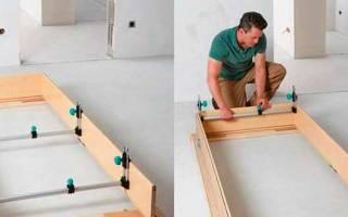 Как правильно запилить коробку для межкомнатной двери?