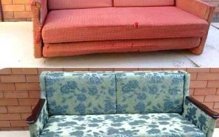 Как самому переделать диван?