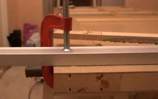 Как подрезать деревянную дверь?