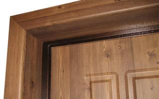 Монтаж откосов на входную дверь из МДФ