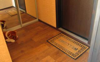 Как красиво сделать порог у входной двери?