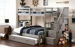 Как выбрать двухъярусную кровать?