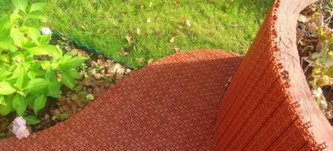 Какое выбрать покрытие для дорожек в саду и на даче?