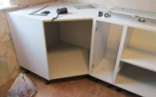 Как собирается кухонная мебель?