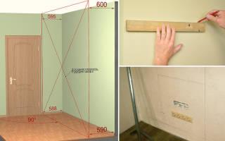 Как усилить стену из гипсокартона для кухни?