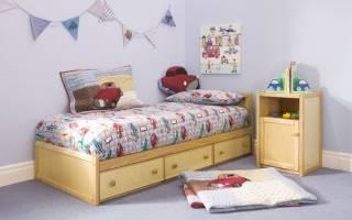 Как самому сделать детскую кровать?