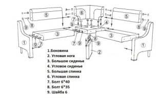 Как починить каркас дивана?