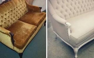 Как восстановить продавленный диван?