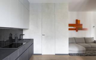 Как устанавливаются скрытые двери?