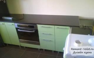 Как крепятся столешницы для кухни?