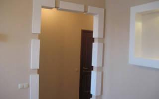 Как оформить проем в стене без двери?