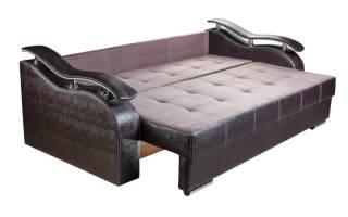 Как собрать малогабаритный диван?