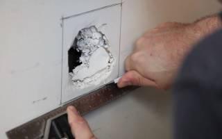 Как заделать трещину в деревянной двери?