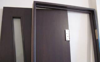 Как сделать коробку для деревянной двери?