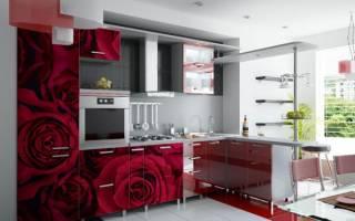 Кухонные фасады МДФ фотопечать