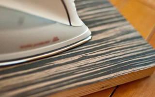 Как убрать сколы на мебели из ДСП?